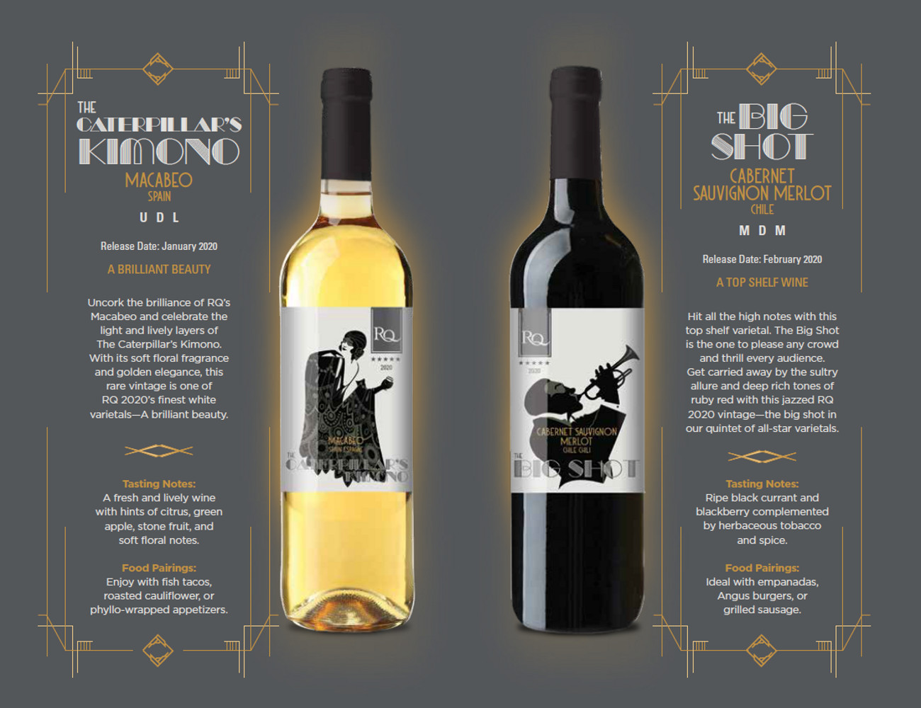 RQ quality wines from kits